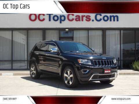 2015 Jeep Grand Cherokee for sale at OC Top Cars in Irvine CA