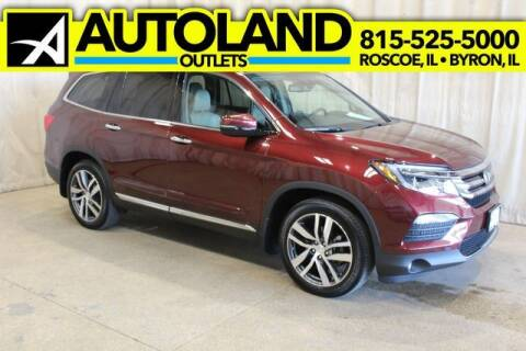 2018 Honda Pilot for sale at AutoLand Outlets Inc in Roscoe IL