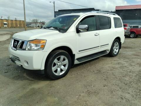 2010 Nissan Armada for sale at Sissonville Used Cars in Charleston WV