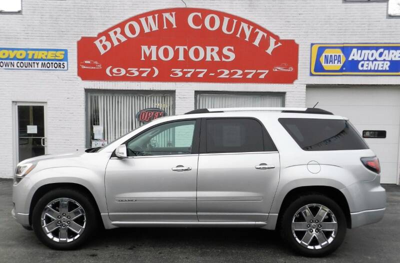 2015 GMC Acadia for sale at Brown County Motors in Russellville OH