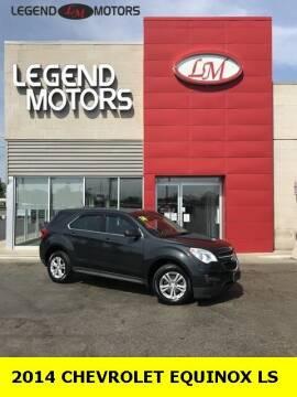 2014 Chevrolet Equinox for sale at Legend Motors of Detroit - Legend Motors of Ferndale in Ferndale MI