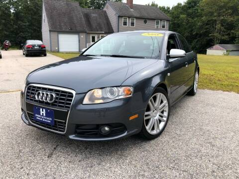 2008 Audi S4 for sale at Hornes Auto Sales LLC in Epping NH
