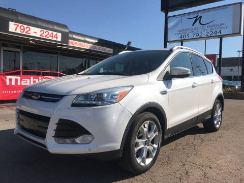 2016 Ford Escape for sale at NORRIS AUTO SALES in Oklahoma City OK