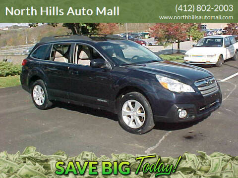 2013 Subaru Outback for sale at North Hills Auto Mall in Pittsburgh PA