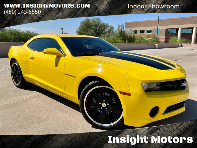 2010 Chevrolet Camaro for sale at Insight Motors in Tempe AZ