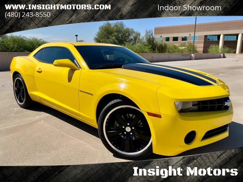 2010 Chevrolet Camaro for sale at Insight Motors in Tempe AZ