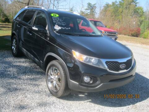 2011 Kia Sorento for sale at Judy's Cars in Lenoir NC
