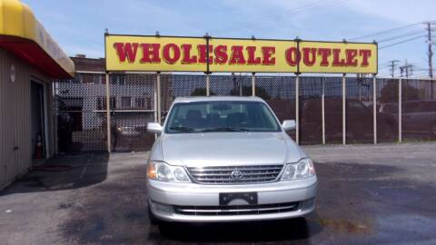 2003 Toyota Avalon for sale at LONG BROTHERS CAR COMPANY in Cleveland OH