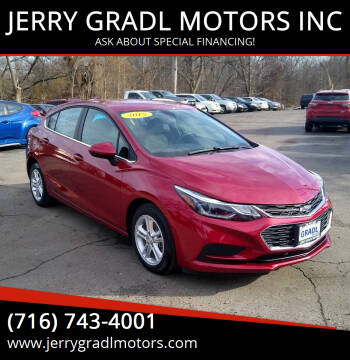 2018 Chevrolet Cruze for sale at JERRY GRADL MOTORS INC in North Tonawanda NY
