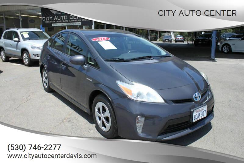 2014 Toyota Prius for sale at City Auto Center in Davis CA