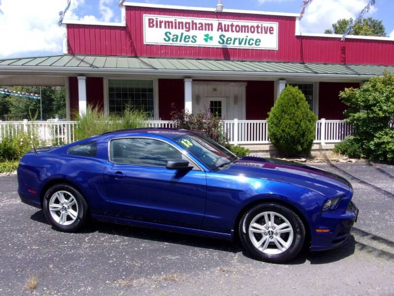 2013 Ford Mustang for sale at Birmingham Automotive in Birmingham OH