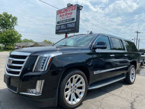 2015 Cadillac Escalade ESV for sale at Unlimited Auto Group in West Chester OH