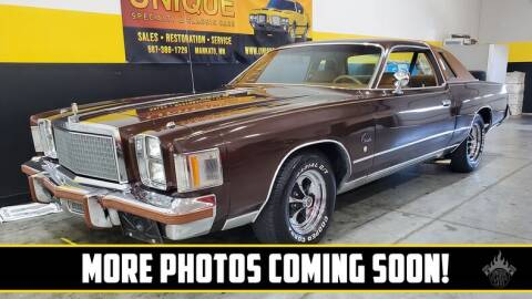 1978 Chrysler Cordoba for sale at UNIQUE SPECIALTY & CLASSICS in Mankato MN