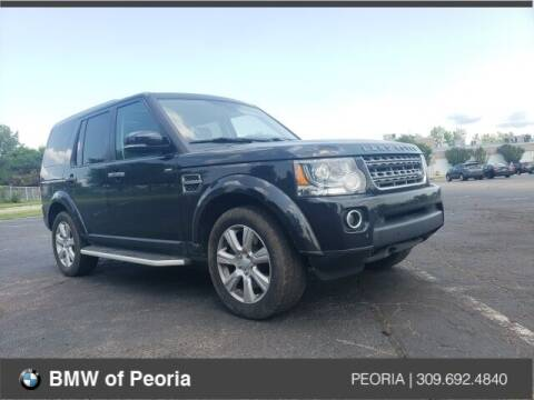 2016 Land Rover LR4 for sale at BMW of Peoria in Peoria IL