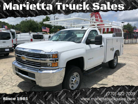 2018 Chevrolet Silverado 2500HD for sale at Marietta Truck Sales in Marietta GA