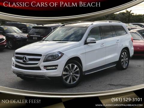 2015 Mercedes-Benz GL-Class for sale at Classic Cars of Palm Beach in Jupiter FL