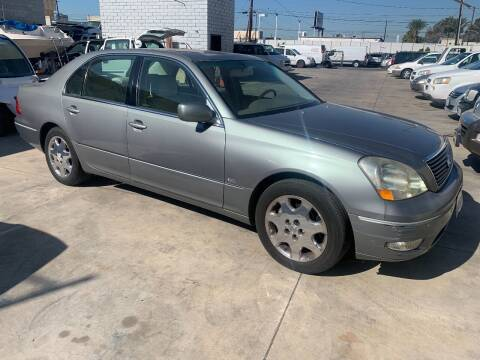 2003 Lexus LS 430 for sale at OCEAN IMPORTS in Midway City CA