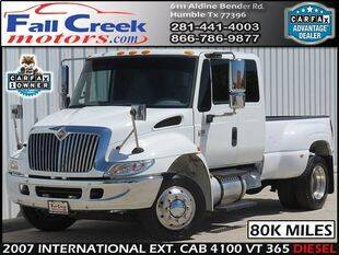 2007 International DuraStar 4100 for sale at Fall Creek Motor Cars in Humble TX