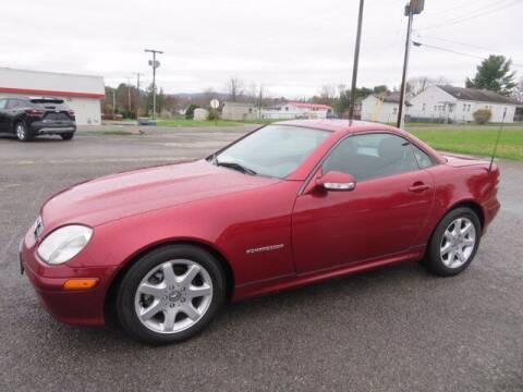 2002 Mercedes-Benz SLK for sale at DUNCAN SUZUKI in Pulaski VA