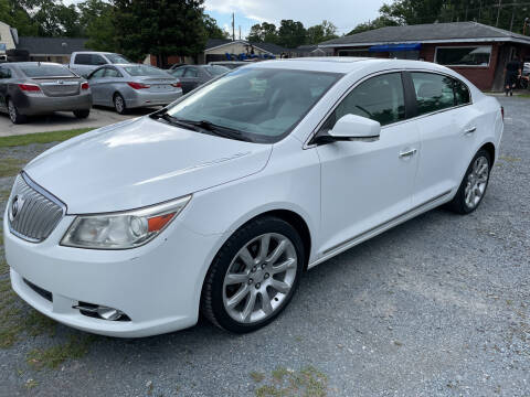 2012 Buick LaCrosse for sale at LAURINBURG AUTO SALES in Laurinburg NC
