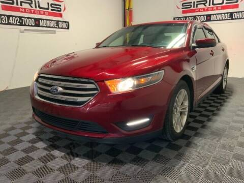2015 Ford Taurus for sale at SIRIUS MOTORS INC in Monroe OH