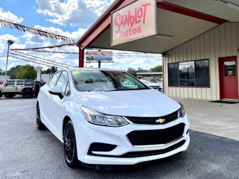2017 Chevrolet Cruze for sale at Sandlot Autos in Tyler TX
