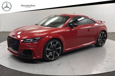 2018 Audi TT RS for sale at Stephen Wade Pre-Owned Supercenter in Saint George UT