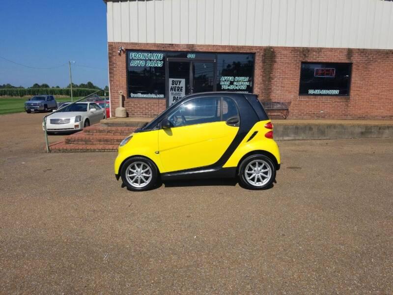2008 Smart fortwo for sale at Frontline Auto Sales in Martin TN
