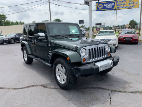 2010 Jeep Wrangler Unlimited for sale at Summit Palace Auto in Waterford MI