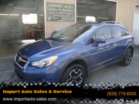 2013 Subaru XV Crosstrek for sale at Import Auto Sales & Service in Boone NC
