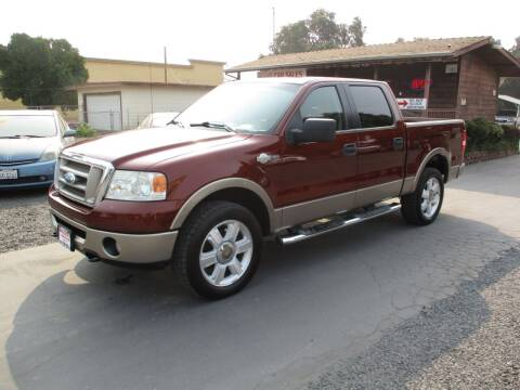 2006 Ford F-150 for sale at Manzanita Car Sales in Gridley CA