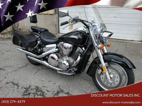 2009 Honda VTX 1300 TOURING for sale at Discount Motor Sales inc. in Ludlow MA