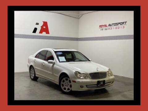 2006 Mercedes-Benz C-Class for sale at Royal AutoSport in Sacramento CA