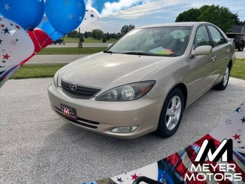 2004 Toyota Camry for sale at Meyer Motors in Plymouth WI