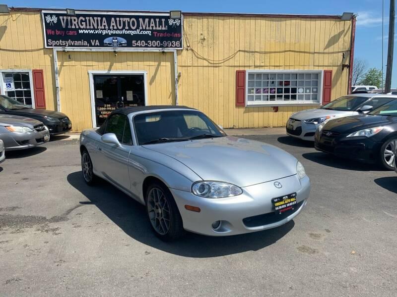 2004 Mazda MX-5 Miata for sale at Virginia Auto Mall in Woodford VA