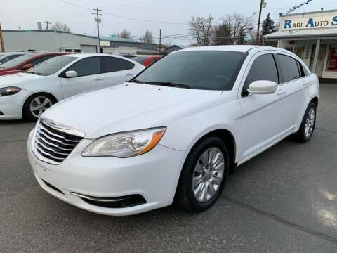 2014 Chrysler 200 for sale at RABI AUTO SALES LLC in Garden City ID