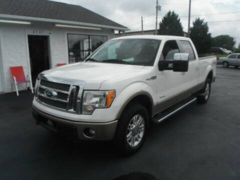 2012 Ford F-150 for sale at Morelock Motors INC in Maryville TN
