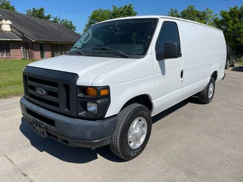 2013 Ford E-Series Cargo for sale at RODRIGUEZ MOTORS CO. in Houston TX