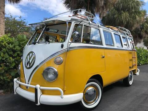1975 Volkswagen Bus for sale at DS Motors in Boca Raton FL