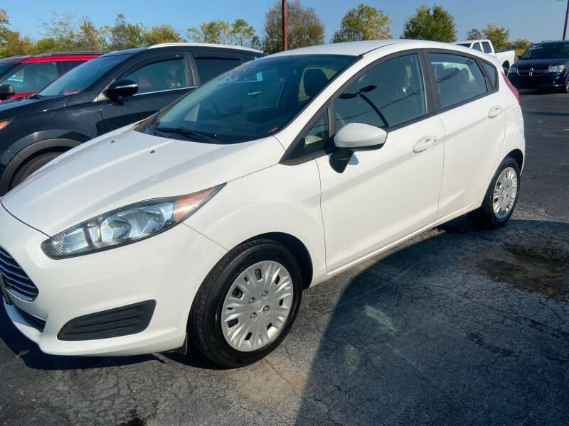 2016 Ford Fiesta for sale at EAGLE ONE AUTO SALES in Leesburg OH