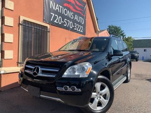 2011 Mercedes-Benz GL-Class for sale at Nations Auto Inc. II in Denver CO
