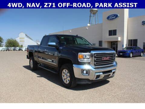2015 GMC Sierra 2500HD for sale at STANLEY FORD ANDREWS in Andrews TX