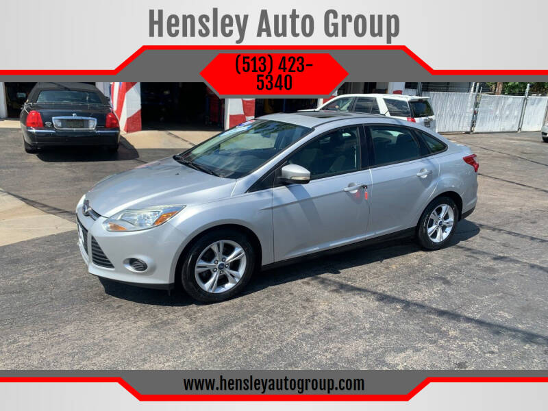 2013 Ford Focus for sale at Hensley Auto Group in Middletown OH