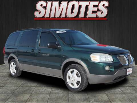 2005 Pontiac Montana SV6 for sale at SIMOTES MOTORS in Minooka IL