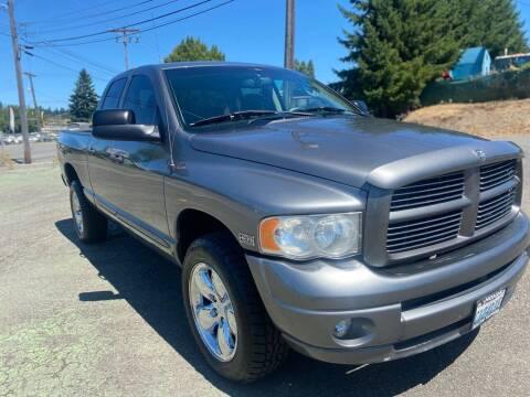 2005 Dodge Ram Pickup 1500 for sale at South Tacoma Motors Inc in Tacoma WA