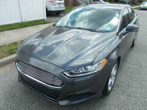 2015 Ford Fusion for sale at Mercury Auto Sales in Woodland Park NJ