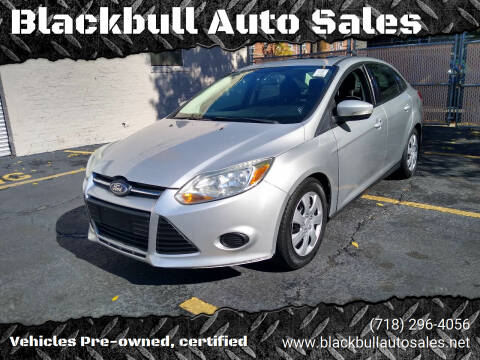2014 Ford Focus for sale at Blackbull Auto Sales in Ozone Park NY