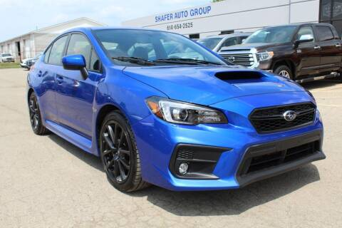 2020 Subaru WRX for sale at SHAFER AUTO GROUP in Columbus OH