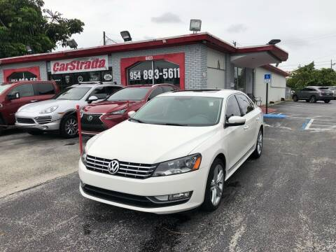 2015 Volkswagen Passat for sale at CARSTRADA in Hollywood FL