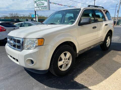 2011 Ford Escape for sale at Robbie's Auto Sales and Complete Auto Repair in Rolla MO